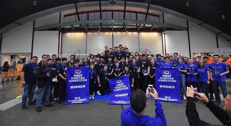 4th Annual Orange County FIRST Robotics Regional – 2019