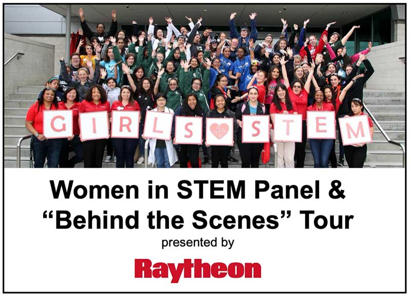 Raytheon and FIRST - Women in STEM event