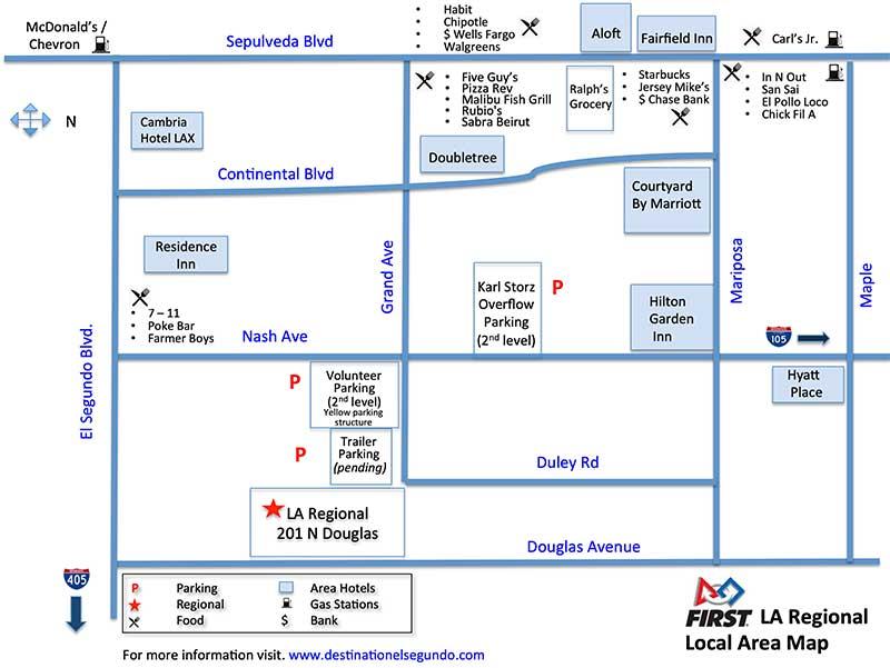 LA Regional Area Map